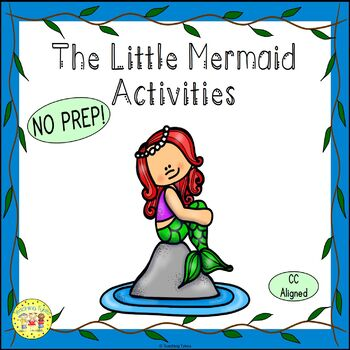 The Little Mermaid Fairy Tales Worksheets Activities Games