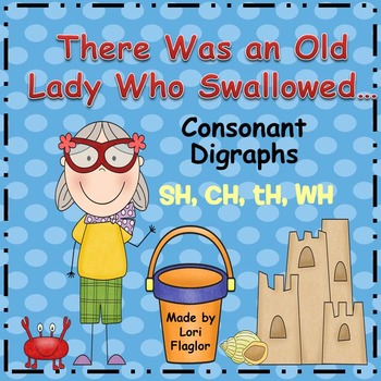 Consonant Digraphs- The Little Old Lady Who Swallowed ...
