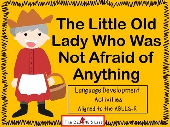 The Little Old Lady Who Was Not Afraid of Anything Languag