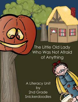 """""""The Little Old Lady Who Was Not Afraid of Anything"""":Liter"""