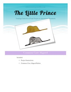 The Little Prince - A Common Core Aligned Project