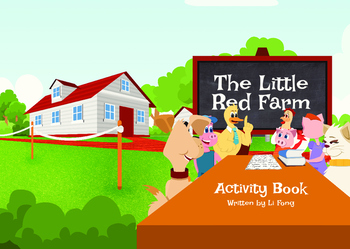 The Little Red Farm Activity Book
