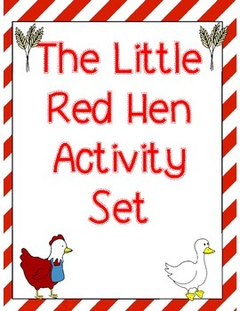 The Little Red Hen Activity Set