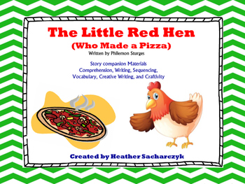 The Little Red Hen Makes a Pizza - Activities to Go With t
