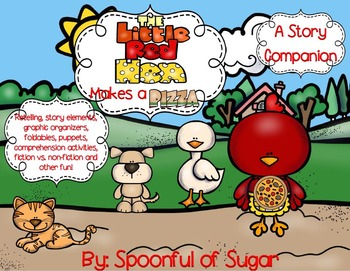 The Little Red Hen Makes a Pizza (Story Companion)