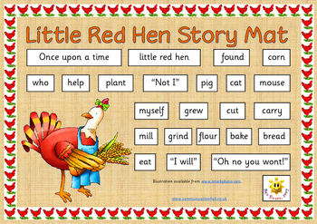 The Little Red Hen traditional tales Collection