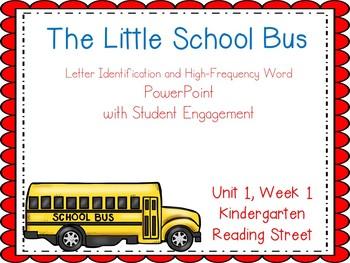 The Little School Bus, Kindergarten PowerPoint, Reading St