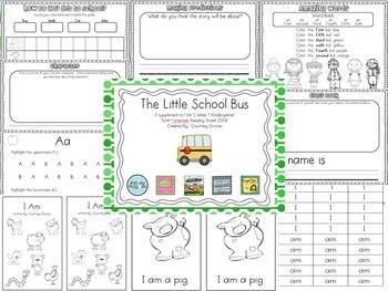 The Little School Bus Kindergarten Reading Street Supplement