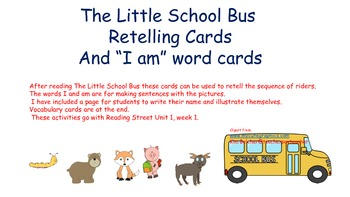The Little School Bus Sequencing