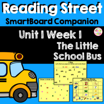 The Little School Bus SmartBoard Companion Kindergarten