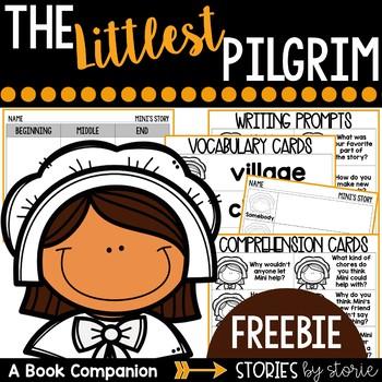 The Littlest Pilgrim  (Book Questions, Vocabulary, & Graph