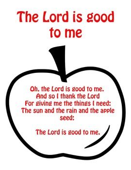 The Lord is good to me