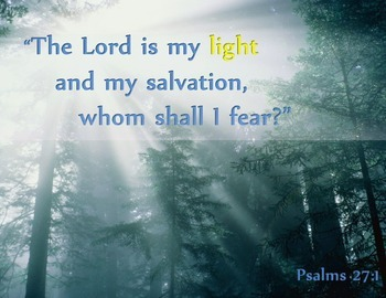 """{FREEBIE} """"The Lord is my Light"""" Poster"""
