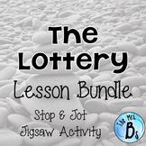 "Shirley Jackson's ""The Lottery"" Lesson Bundle- Stop & Jot,"