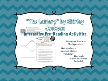 """The Lottery"" Pre-Reading Tasks- ""Tea Party"" and ""Roundtab"
