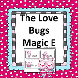 Silent E Love Bugs and Magic e! Valentine's Day Literacy Center