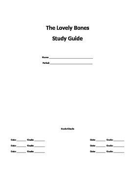 The Lovely Bones Study Guide