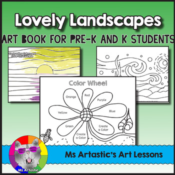 Learn About Color with Landscapes Art Lessons