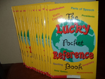 The Lucky Pocket Reference Book (set of 13)