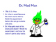The Mad Scientist: Tools To Help Children Manage Anger