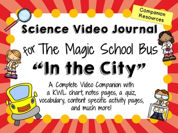 The Magic School Bus: In the City - Video Journal