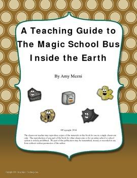 The Magic School Bus Inside The Earth by Joanna Cole: A Te