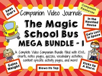 The Magic School Bus Mega Bundle 1 - Video Journals