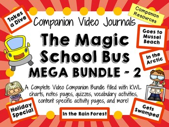 The Magic School Bus Mega Bundle 2 - Video Journals