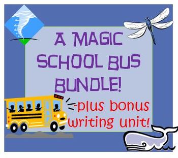 The Magic School Bus Reading Writing and Science Bundle 3