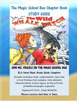 The Magic School Bus THE WILD WHALE WATCH Chapter Book Stu