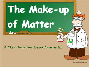 The Make-up of Matter - A Third Grade SmartBoard Introduction