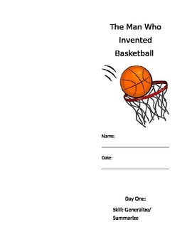 The Man Who Invented Basketball Center/Seatwork Packet