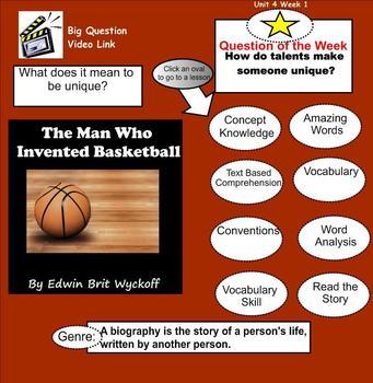 The Man Who Invented Basketball SmartBoard Menu