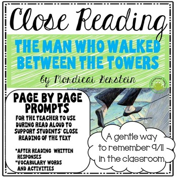 The Man Who Walked Between the Towers - Close Reading Page