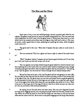 The Man and the Ghost - Literary Text Test Prep