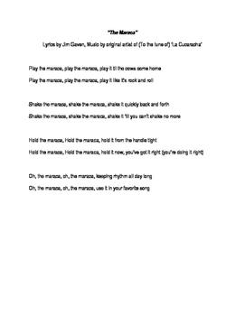 The Maraca Song