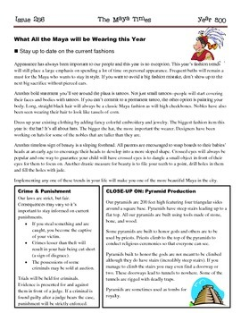 The Maya Times Newspaper