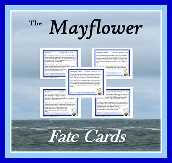 The Mayflower:  Fate Cards