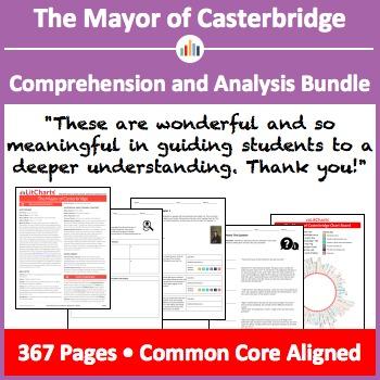 The Mayor of Casterbridge – Comprehension and Analysis Bundle
