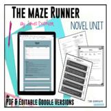 The Maze Runner (Dashner) Novel Unit