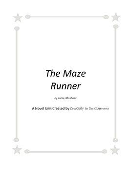 The Maze Runner Novel Unit Plus Grammar