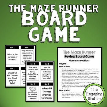 The Maze Runner Review Board Game