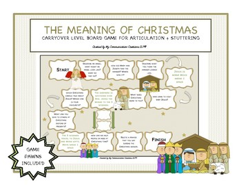 The Meaning of Christmas: Customizable Board Game - Articu