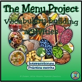 The Menu Project / El proyecto de la carta
