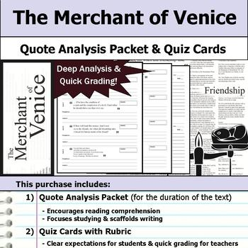 The Merchant of Venice by William Shakespeare - Quote Anal