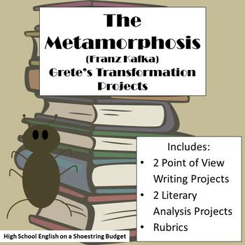 The Metamorphosis Greta's Transformation Activities (Franz Kafka)
