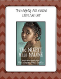 The Mighty Miss Malone by Christopher Paul Curtis Literature Unit