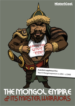 The Mighty Mongol Empire Resource Bundle & Boardgame