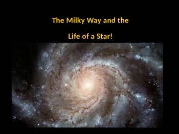The Milky Way and The Life Cycle of a Star (TOTALLY ANIMATED)