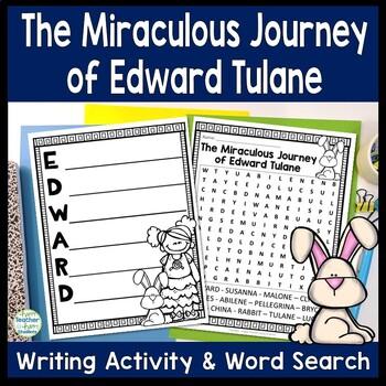 The Miraculous Journey of Edward Tulane Writing Activity w